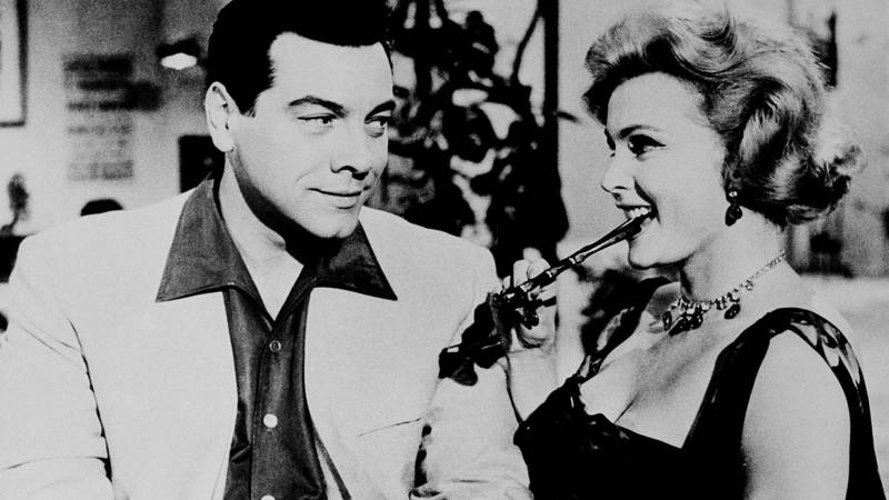 Mario Lanza and Zsa Zsa Gabor in 1959's For the First Time