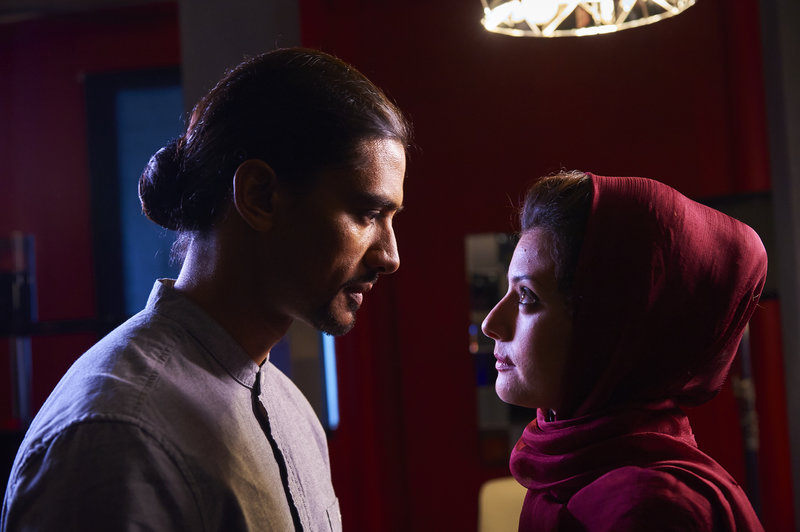 Jan Uddin and Sibylla Deen in Lies We Tell