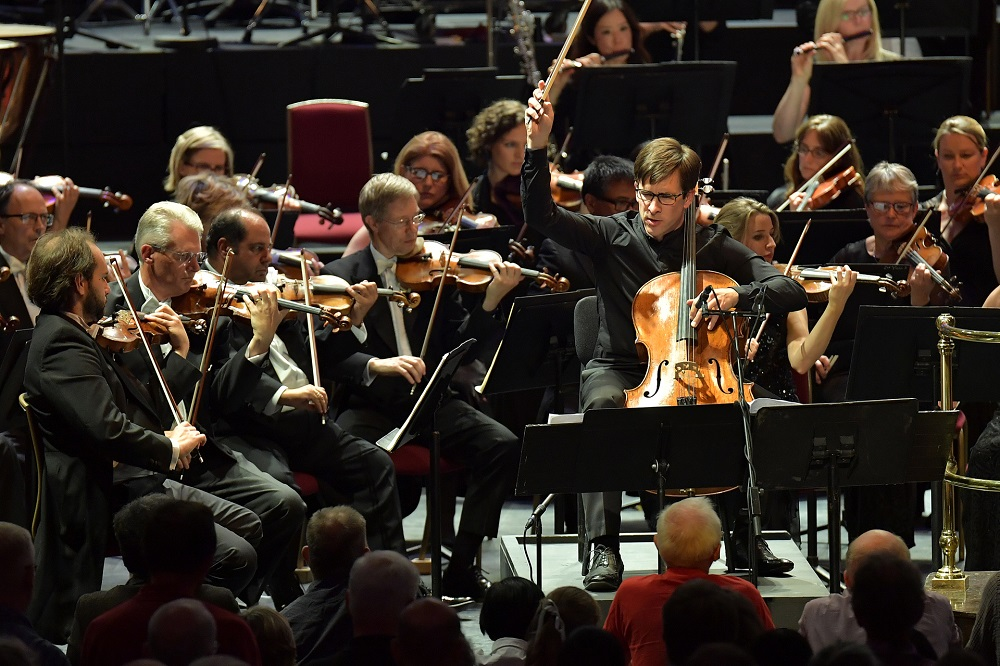 Guy Johnston at the Proms