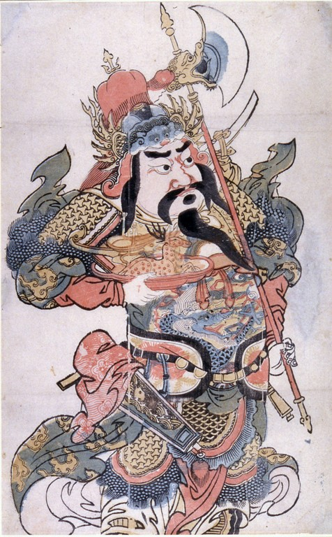 Chineseprints.warrior
