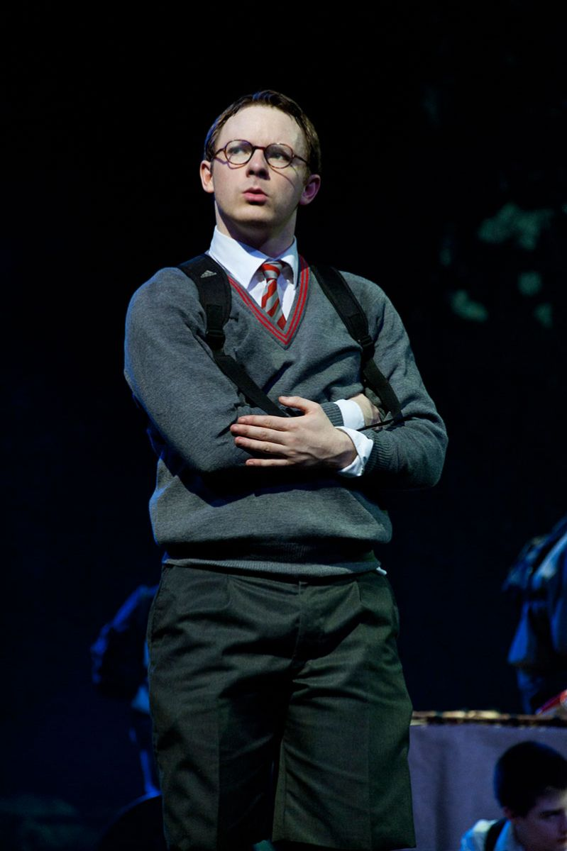 Sam Plant as Piggy in Matthew Bourne's Lord of the Flies