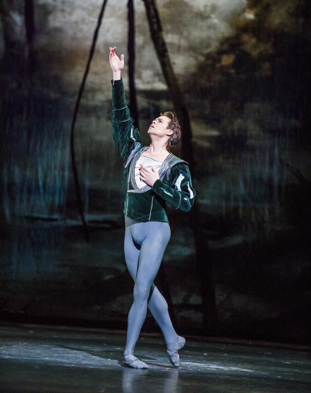 Matthew Golding as Albrecht in the Royal Ballet's 'Giselle'. Photo by Tristram Kenton.
