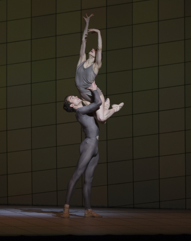 Matthew Ball and Marianela Nuñez in Wayne McGregor's Multiverse. Photo by Andrej Uspenski.