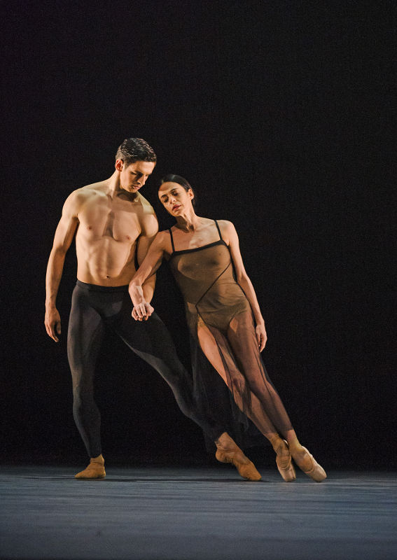 Alessandra Ferri and Federico Bonelli in Wayne McGregor's Woolf Works for the Royal Ballet