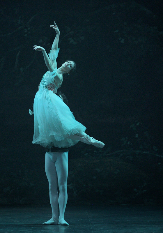 Alina Cojocaru and Isaac Hernández in Mary Skeaping's Giselle, English National Ballet. Photo by Laurent Liotardo.