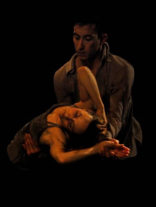 Peter Chu and Annie Plamondon in Crystal Pite's A Picture of You Falling