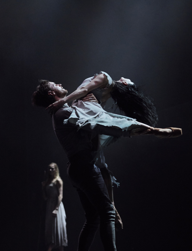 Tamara Rojo and James Streeter in Akram Khan's 'Giselle' for English National Ballet