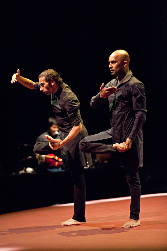 Israel Galván and Akram Khan in TOROBAKA
