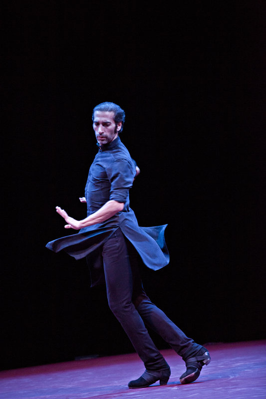Israel Galván in rehearsal for TOROBAKA