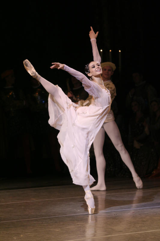 Diana Vishneva as Juliet