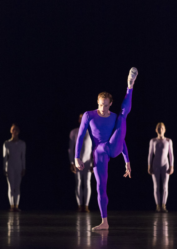Royal Ballet dancer Edward Watson in McGregor's Tetractys - The Art of Fugue