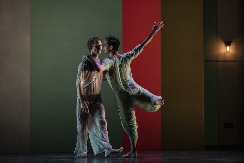 Company dancers in Pam Tanowitz's 'Four Quartets'