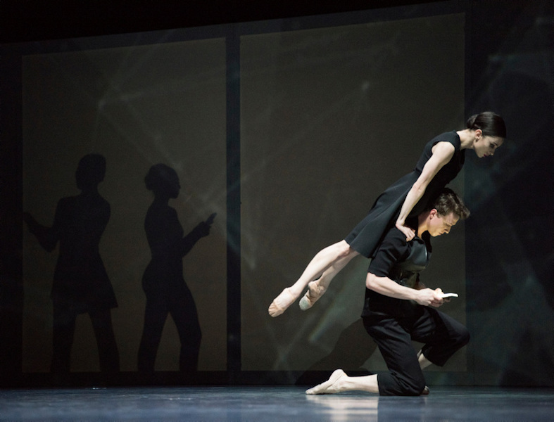 Dores André and Benjamin Freemantle in Wheeldon's 'Bound To'