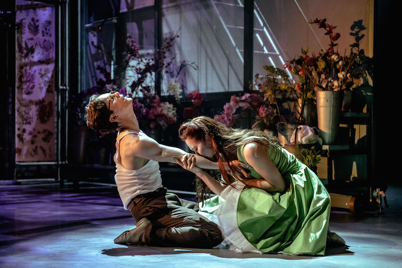 Love in bloom: Daniel Collins and Rachel Muldoon in 'Jekyll & Hyde'