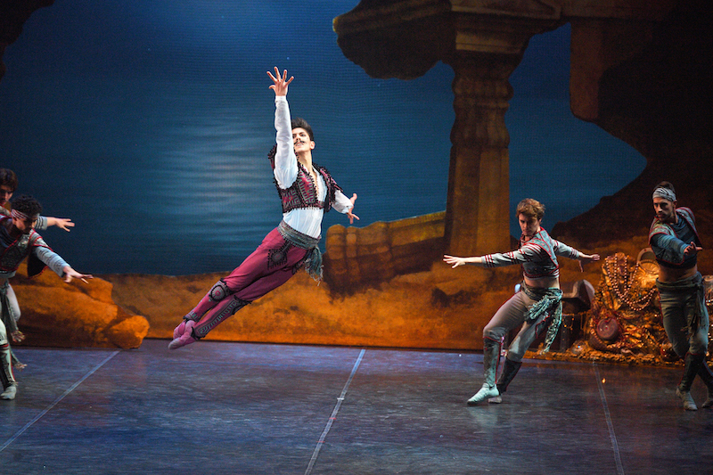 Erik Woolhouse as Birbanto in Le Corsaire