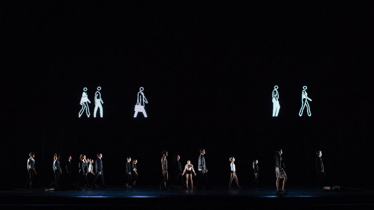 Artists of the Royal Ballet in 'Infra'