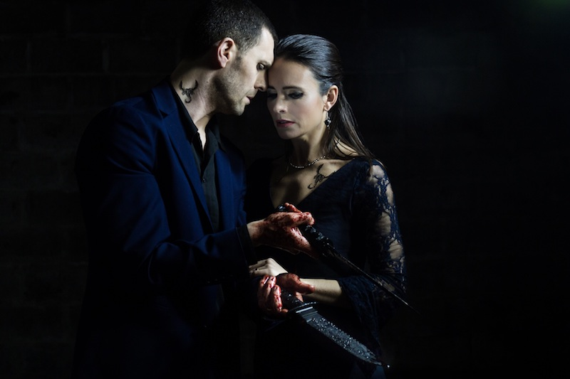 Jonathan Goddard as Macbeth and Eleanor Duval as Lady Macbeth