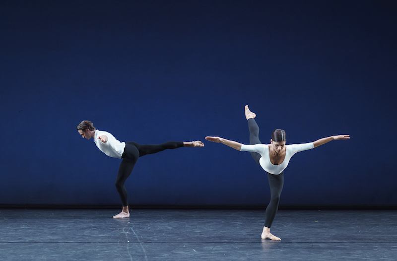 Matthew Ball and Mayara Magri in Cross Currents