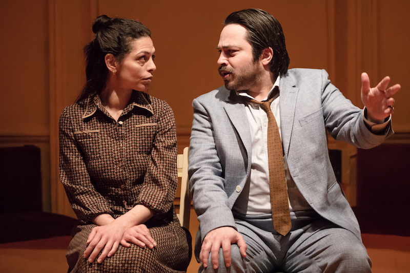 Myriam Acharki and Ammar Haj Ahmad in 'Returning to Haifa'