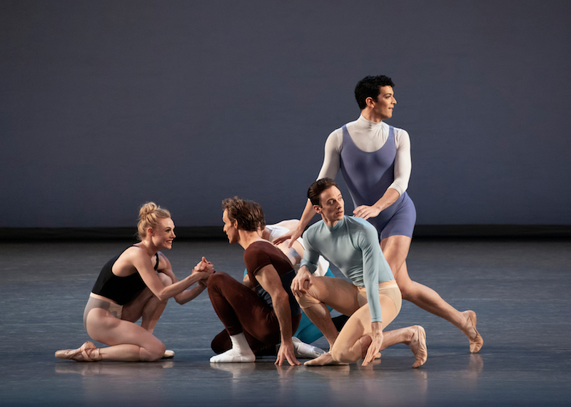 Dancers from New York City Ballet in 'Rotunda' by Justin Peck