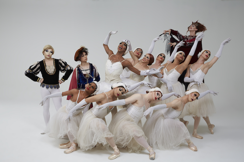 The Trocks in Swan Lake Act II