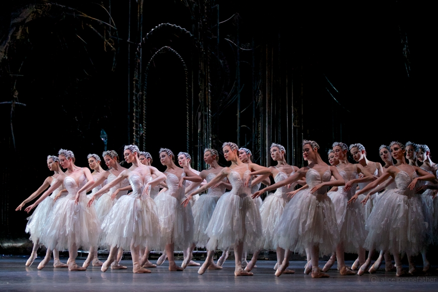 Act Two of Royal Ballet Swan Lake