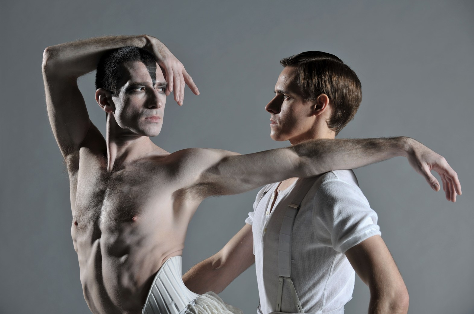 Jonathan Ollivier and Sam Archer in Matthew Bourne's Swan Lake