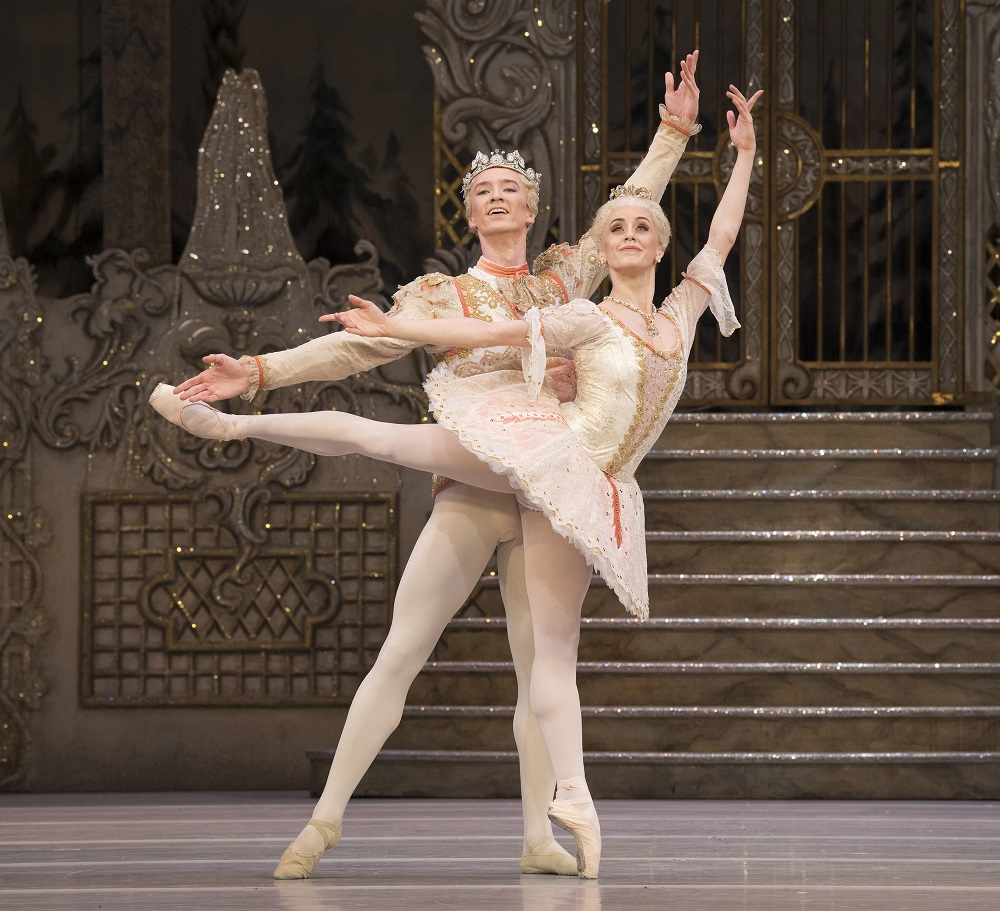 Marianela Nunez and Vadim Muntagirov in The Nutcracker