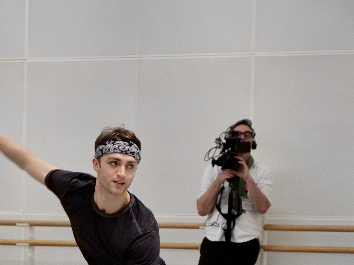 Matthew Ball photographed by Rachel Hollings © Royal Ballet