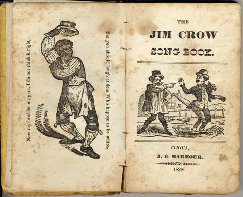 Jim Crow Song Book Dickens
