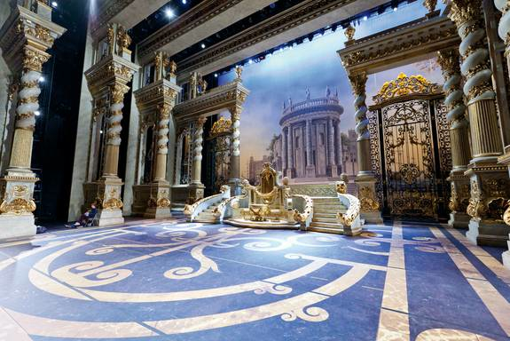 Frigerio Sleeping Beauty set for Bolshoi