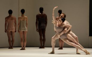 Royal Ballet dancers Tamara Rojo and Edward Watson in Wayne McGregor's Chroma