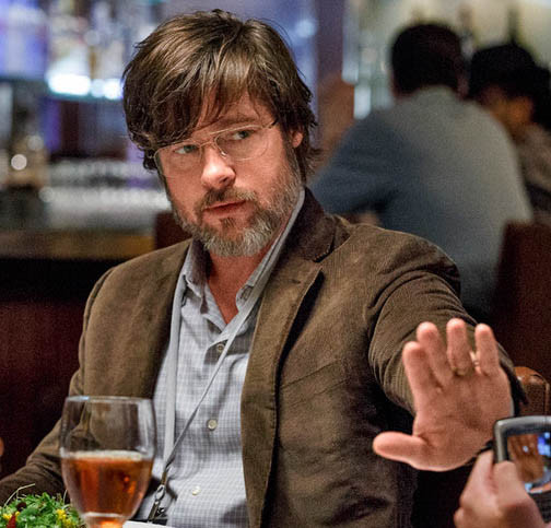 Brad Pitt in The Big Short