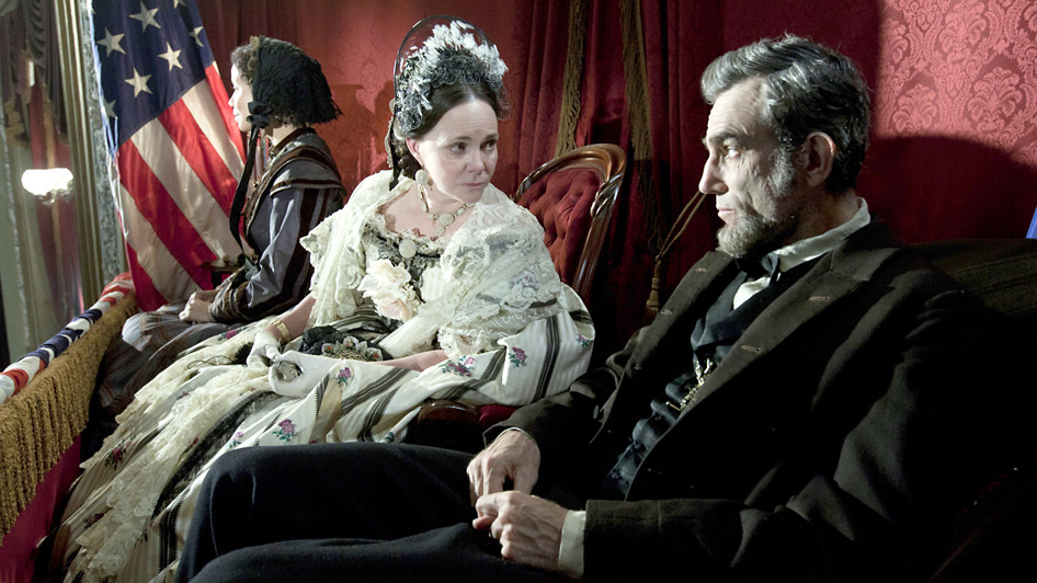 Daniel Day Lewis and Sally Field in Lincoln