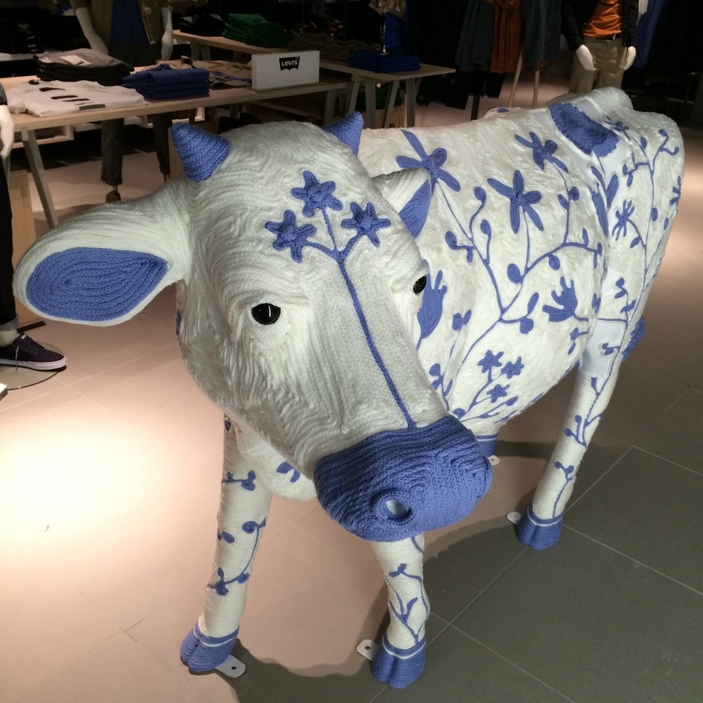 Charlotte the cow john lewis