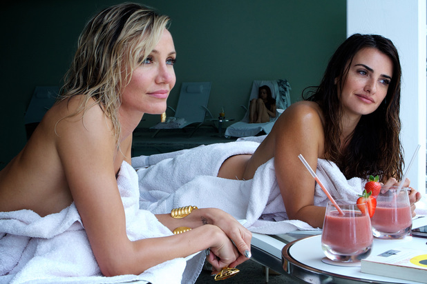 Cameron Diaz and Penelope Cruz in The Counsellor