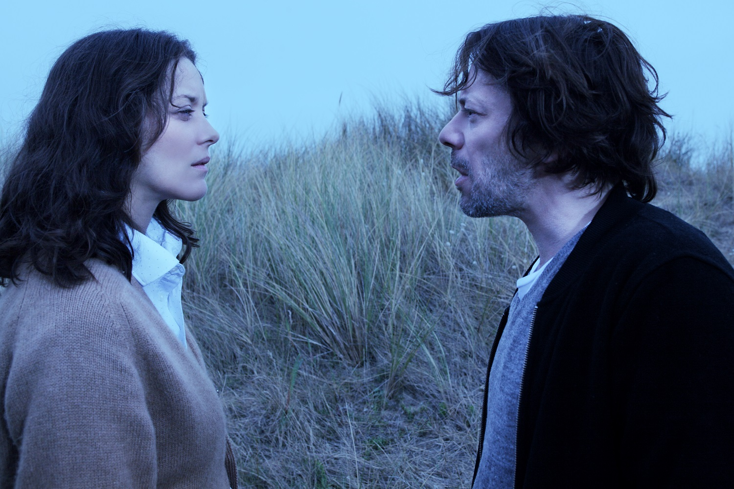 Marion Cotillard and Mathieu Almaric