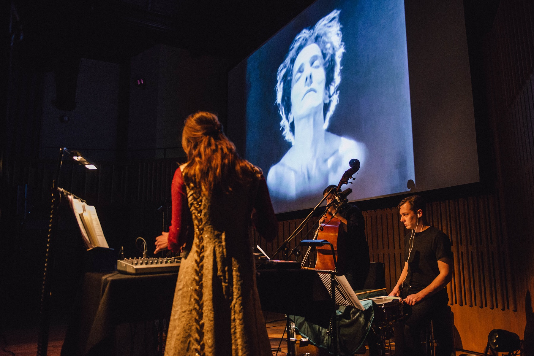 Haley Fohr performs her live soundtrack to Salome