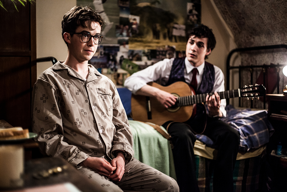 Alex Lawther and Jonah Hauer-King in Old Boys