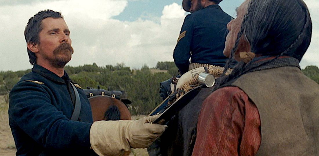 Christian Bale in Hostiles