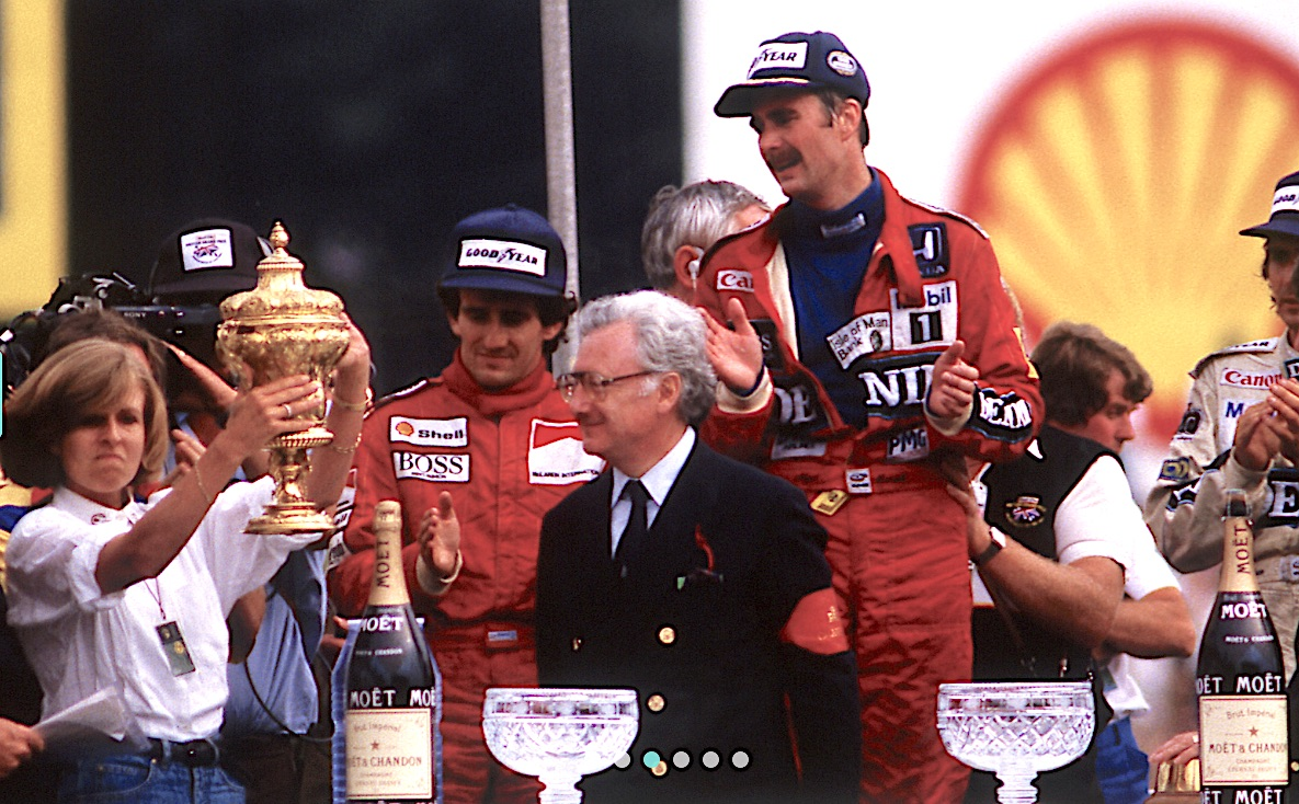 Nigel Mansell in Williams