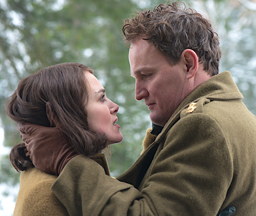 Keira Knightley & Jason Clarke in The Aftermath