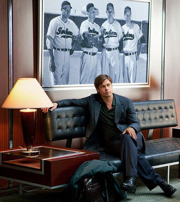 Brad Pitt in Moneyball