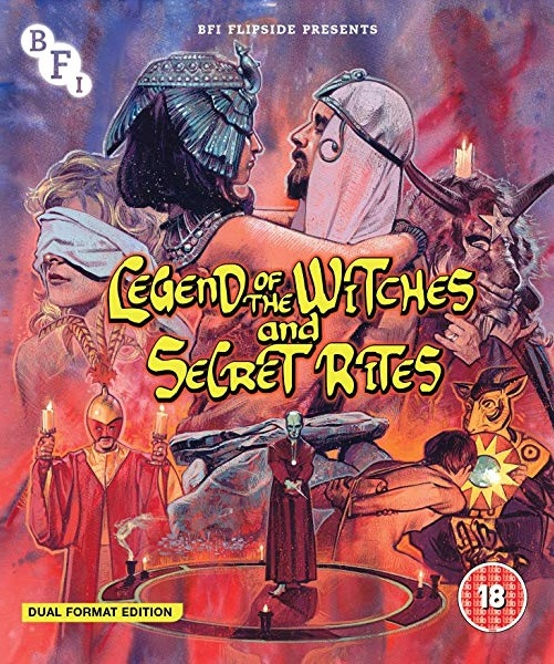 DVD/Blu-ray: Legend of the Witches & Secret Rites