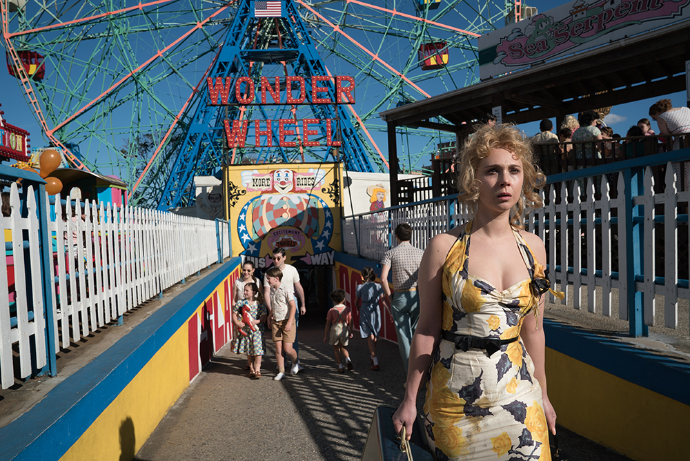 Juno Temple in Wonder Wheel