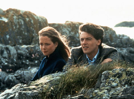 Jenny Seagrove and Peter Capaldi in Local Hero