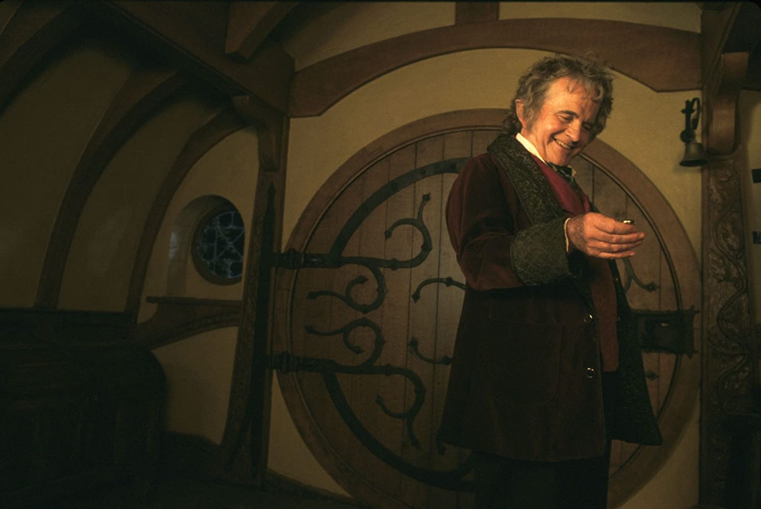Ian Holm in The Hobbit