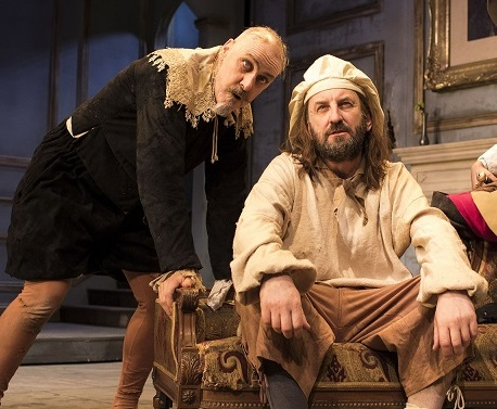 Griff Rhys Jones, Lee Mack in The Miser