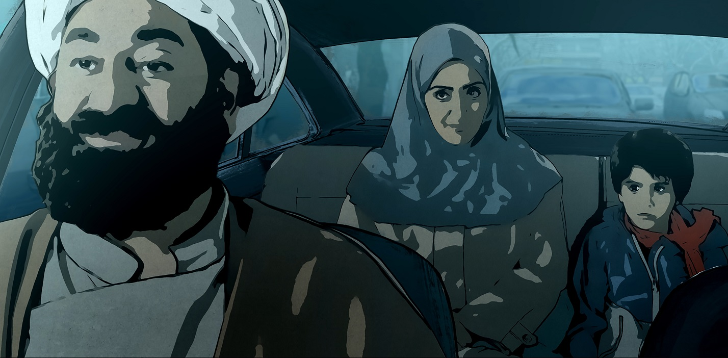 TT-Pari and Elias in a Car with the Judge
