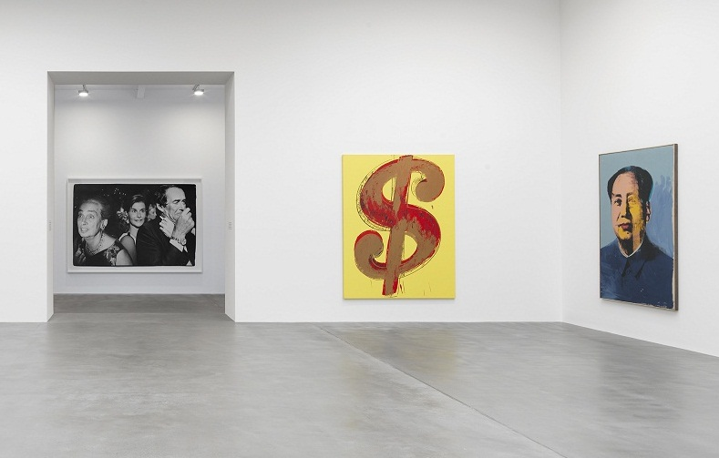 Installation view, Photo: Mike Bruce / Gagosian Gallery